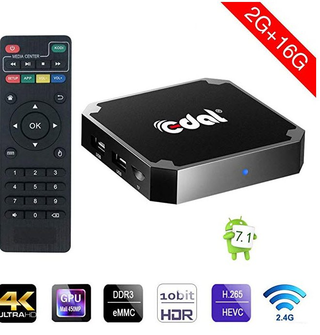 IPTV Andtroid TV with 2 months IslandStream Included